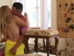 Crazy pornstar Cayenne Klein in fabulous creampie, anal adult movie