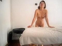 Japanese massage blowjob with jizz