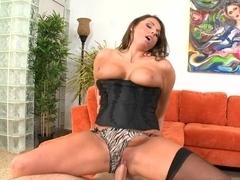 Crazy pornstar in Fabulous Blowjob, Big Ass adult movie