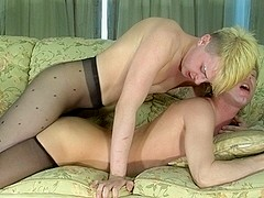 TryPantyhose Video: Silvester and Maurice