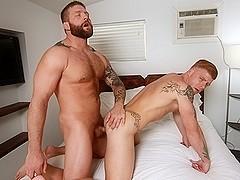 Bennett Anthony & Colby Jansen in Bear Weekend Part 1 Scene