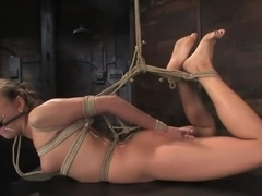 Welcome another new beautiful face to Hogtied. 21 year old Nika Noire is hot and helpless.