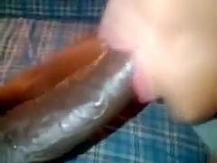 she like suck