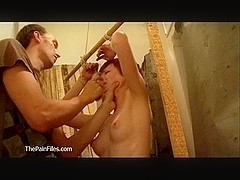 Teen redheads bondage and amateur bdsm of cute punished submissive in spanking and domination in t.