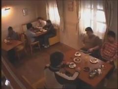 Japanese waitress upskirt 2