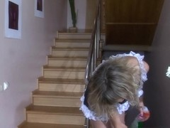Anal-Pantyhose Clip: Nora and Adam