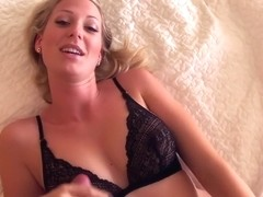 I got my lover's spunk on me in the big tit amateur vid