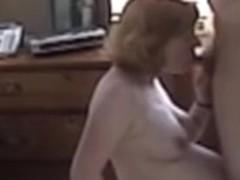 wife giving blowjob on hidden cam