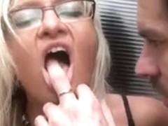 European hottie receives anal drilled in a barn