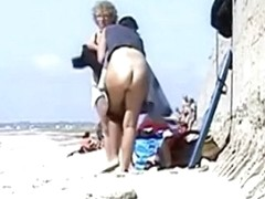 Hidden beach voyeur milf video