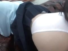 Iori Ass Young White Paper Tsukimoto Girls Club