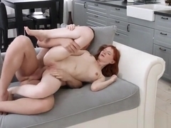 College Babe Emily Red Gets All Her Holes Bonked