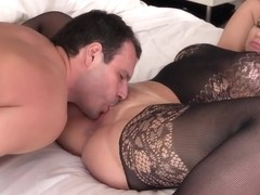 Curvy Stepmom Gets Cum Filled Mouth