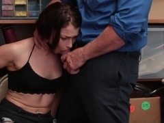 Horny Burglar Jennifer Jacobs Gives Head and Stuffed