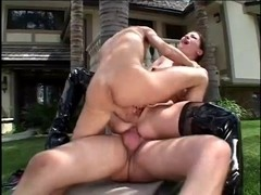 Hot Brandi Lyons sucks two Rods and Receives DAP