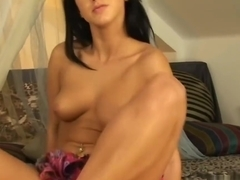 Dark Haired Angelica Kitten Takes Cock While Riding