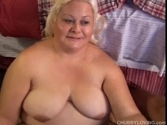 Delightful blond big beautiful woman Lisa can't live without to fuck
