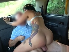 Alexxa Vice - Ass to mouth with tattooed babe - FakeTaxi