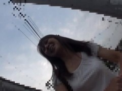 Amateur Asian street babe picked-up and tricked into sex