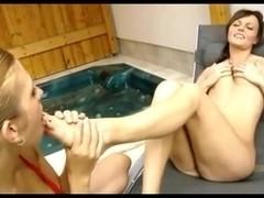 Lesbian Foot Worship 56