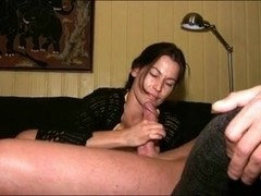 girl Has A Special Handjob Technique WF