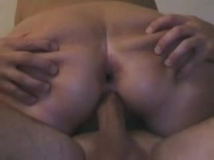 Mature wife sex with stanger and hubby on vacation