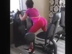 Voyeur Aunt Hot Spandex Ass
