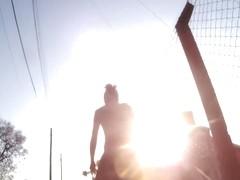 Amateur spy cam upskirt video of an undoubting hot girl