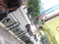 Boso Pink Thong Faceshot mabilis lang