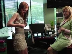 Exotic pornstars Pepper Kester and Nina Hartley in hottest blowjob, masturbation porn video