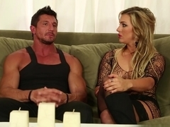 Exotic pornstars Tommy Gunn, Cameron Dee in Best Facial, Blonde xxx video