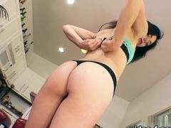 Fabulous pornstar Rhaya Shyne in Crazy Small Tits, Brunette porn scene