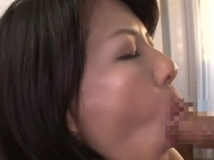 Nozomi Sasayama in Mom Cleans The House An His Dick - MilfsInJapan