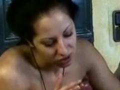 mature cum in pussy handjob was