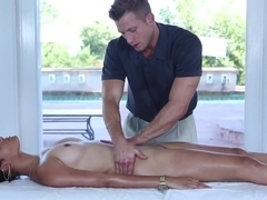 Horny pornstar Aria Salazar in Hottest Massage, Pornstars xxx video