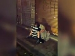 Brit Chavs Abroad Filmed by Onlookers
