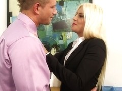 Jessie Volt & Bill Bailey in Naughty Office