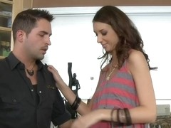 Katie Jordin & Kris Slater in My Dad Shot Girlfriend