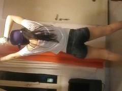 Superlatively Good twerking livecam panty movie scene