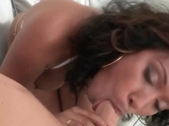 Bella Moretti is being fucked hard in her mouth and wet pussy
