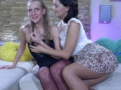 Pantyhose1 Video: Barbara and Charlotte