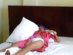 Oriental pair in a love hotel