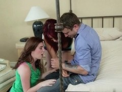 Jessie Parker, Ava Devine, Mr. Pete in Couples Seeking Girls #15, Scene #03