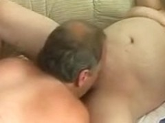 Plump aged dilettante wife sucks and copulates