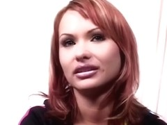 Hottest pornstar Katja Kassin in exotic blowjob, facial xxx clip