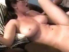 Booby student riding his dick and bouncing with melons