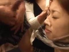 Japanese Cum Dump Slut Acquires Sprayed With Ball Batter!