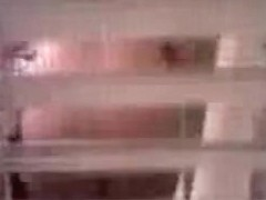 Hidden cam shooting sexy bubble butt in the shower