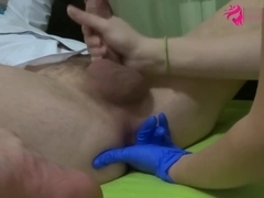 HOT TEEN ASS AND PROSTATE MASSAGE WITH HUGE CUMSHOT and Fingering! FULLHD!