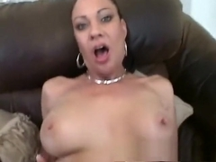 Horny MILF begs to have her pussy stretched out with a black cock